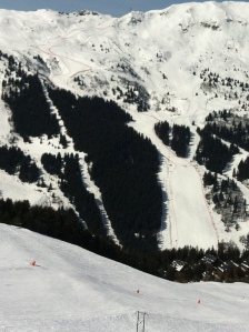 Meribel Downhill Course